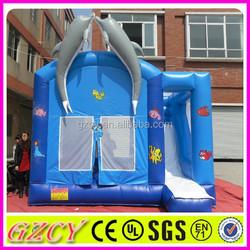 Popular dolphin bouncy castle