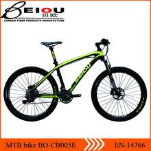 Hangzhou BEIOU oem carbon fiber mountain bike 26 er