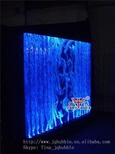 Bar and restaurant design indoor wall fountains bubble temporary partitions