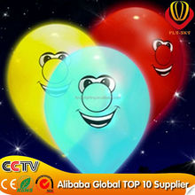 festival inflatable decoration led balloon/ LED balloon light/LED falshing balloon promotional items