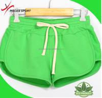 blank printing girls sexy running shorts sauna shorts