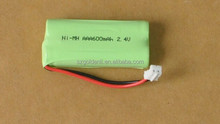 NI-MH AAA 600Mah 2.4V Rechargeable Battery Pack