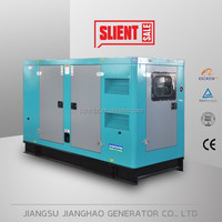 Prime 100KW Silent diesel power generator set with cummins engine 125kva electric generator price with canopy