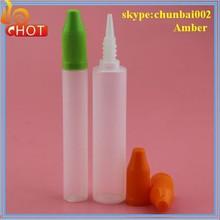 great pen shape pe e cig bottle pe dropper bottle perfume pen/bottle