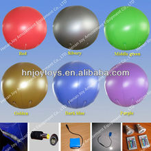 pvc inflatable hot air balloon decor, flying boat, air balloon toy for advertising