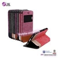 [JQX] mobile flip cover for iphone 6 plus leather case cover funda de piel