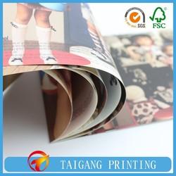 hgh quality newly fashion magazine for women dress,children cloth catalogue