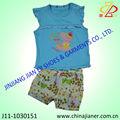 nuevo estilo de las chicas preciosas al por mayor ropa ropa infantil conjunto