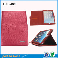 New Arrival Stylish Foldable Real Leather Case For Ipad Air 5