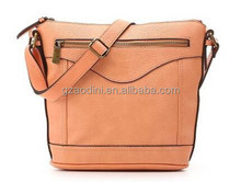2015 China Classical Genuine Leather Cross body bag for Women