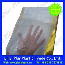 custom printed 25kg with die cut plastic rice bag/rice packing bag