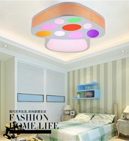 Simple fashion LED dome light sitting room the bedroom light lamps and lanterns of children's creative personality restaurant li