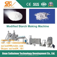 full automatic modified starches flours and processing line for industrial