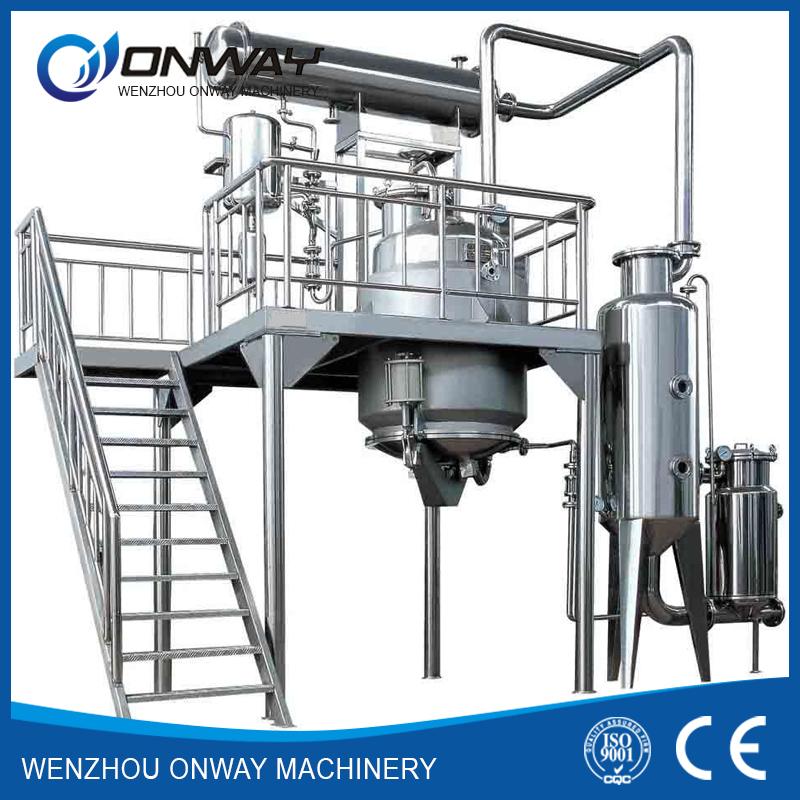 RFE plant extractor