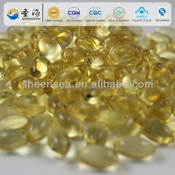 Nutrition Food Supplement galic oil Soft Capsule Lowering total cholesterol