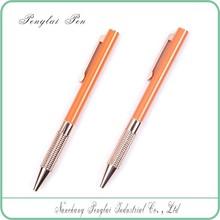2015 Original Facoty Customized Logo Colorful chrome finishes good gift pen