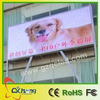 Outdoor P8 Super bright p10 rgb outdoor led advertising double sided tv screen