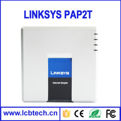 Original Linksys voip pap2t with high quality and low price