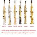 Nombre de instrumentos musicales de China , oro recta saxofón saxofón soprano para ventas calientes