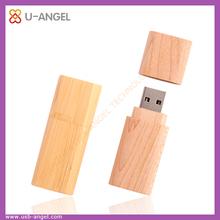 Eco friendly wooden USB flash drives, 8GB personalised wooden USB sticks, custom USB 2.0 USB flash drives