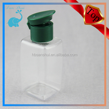 PET Travel Toiletry bottle from manufacturer clear Plastic Travel Bottles
