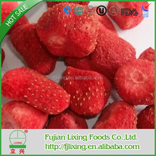 Bulk package/small bags Sweet Snack food of FD Strawberry