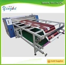 2015 china Cylinder Oil heating roller sublimation heating machine/ roll to roll heat transfer presses machine