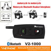 Long range motorcycle helmet two way radio headset for 2 riders