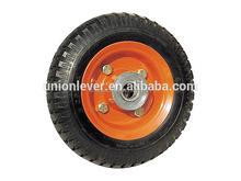 wheel barrow solid rubber wheel