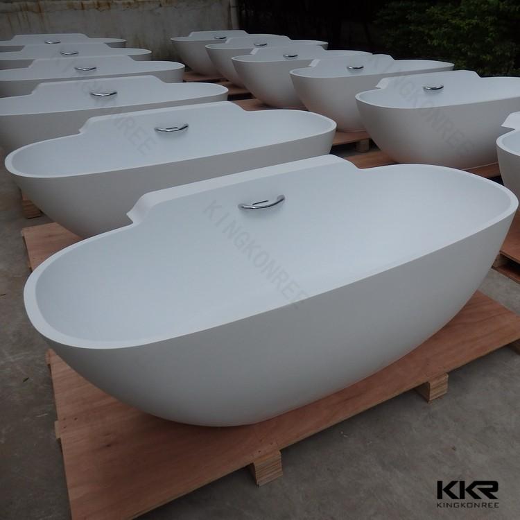 52 pouce autoportante pierre marbre baignoires surface solide baignoire baignoire bains. Black Bedroom Furniture Sets. Home Design Ideas