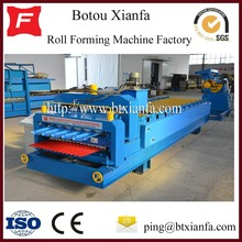 Double Glazed Tile And Corrugated Iron Roof Making Machine Double layer Roll Forming Machine Roof Tile Making Machine