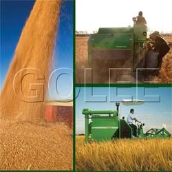 2.0m cutting width mini combine harvester harvesting machine