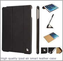 2015 Hot sale new Jisoncase leather cover for iPad air 2