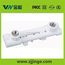 supply manufacturer PLASTIC-BRASS hot water manifold