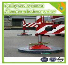 Heavy load capacity hdpe outrigger pad/strong wear resistant uhmwpe gasket
