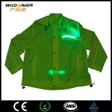 New design LED winter jacket for women 2015