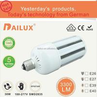 Export to USA 30w e40 led corn light bulb shenzhen