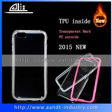 New Separable Hard Combo Slim TPU PC Phone Case For iPhone 6