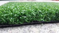 High density Non-filling sports artificial grass surface flooring carpet