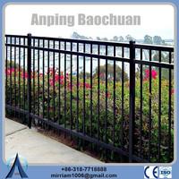 China supplier Home/Garden decoration steel fencing design