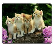 Promotion Kitten Flower Cute mouse pad custom