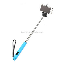 Colorful Universal Selfie Stick for iOS and Android Phones Bluetooth Monopod Zoom in/out Function for Mobile Phone