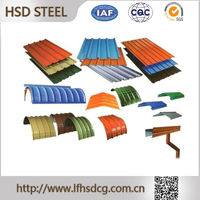 Steel Sheets plate,red color metal roof tile