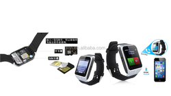 Lastest mobile phone watch 1.5 inch screen best quality mtk 6260A smart watch phone