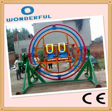 ce approved Electricity powered human gyroscope rides 3d gyro loop