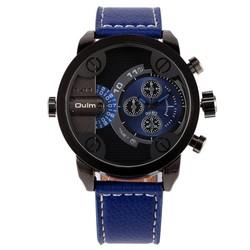 China brand watch OULM genuine leather watch fashion watch for women men couple watch