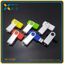Promotion Gift Plastic Swivel USB Flash Drive , Swivel USB , Swivel USB Flash With Logo Printing