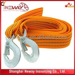 Colorful Car Tow Ropes/Strap rope in good price