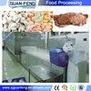 frozen food equipment / tunnel blast freezer/industrial freezer price