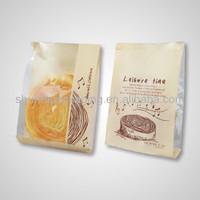 Sandwich packaging bags/brown kraft paper bag
